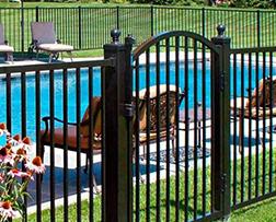 Fence Company NJ - Aluminum Fence Image