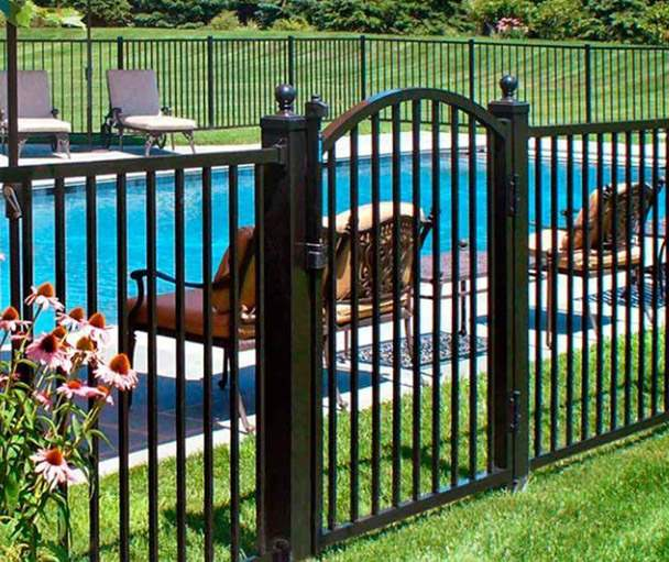 These Fences Are A Great Alternative To Traditional Wrought Iron And Their Modern Designany Benefits Make Aluminum Fence Installation In Nj