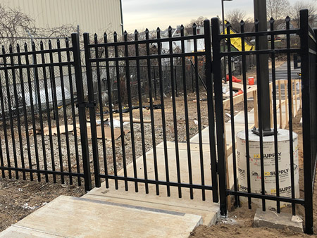 Commercial Fence Installation NJ Image