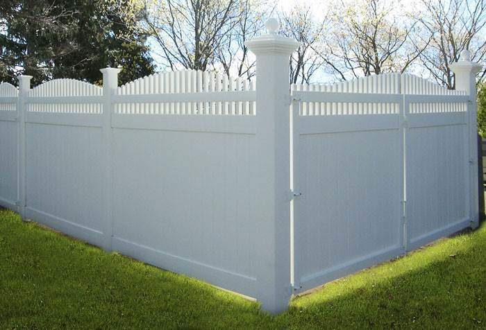 Vinyl fence designs nj
