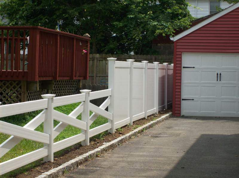 Fence designs nj vinyl gallery image