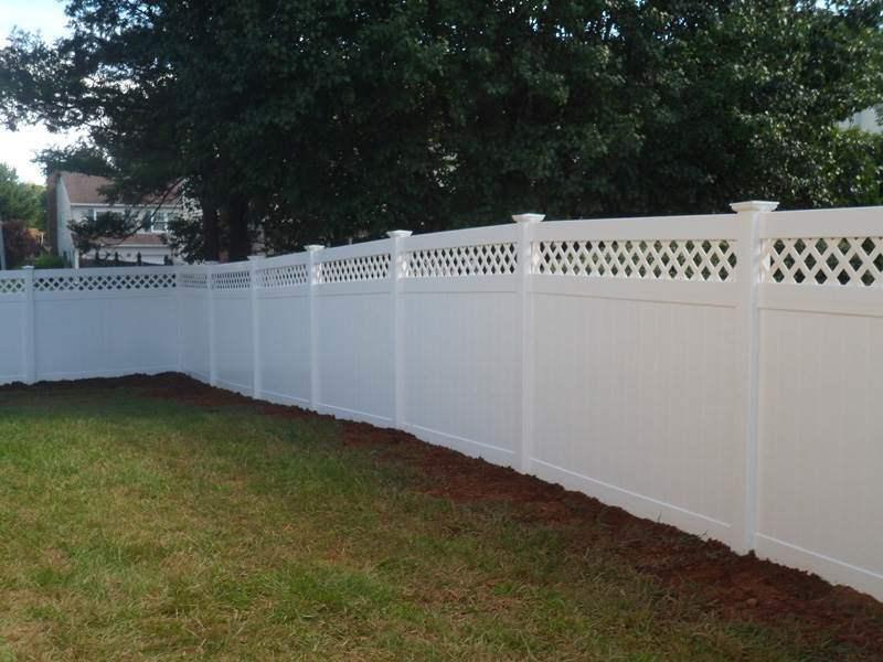 vinyl fence designs nj. Black Bedroom Furniture Sets. Home Design Ideas