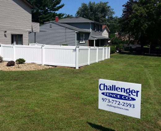 PVC/Vinyl Fences In NJ Image
