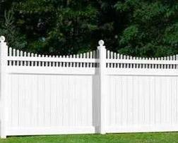 Fence Company NJ - Vinyl Pvc Fence Image
