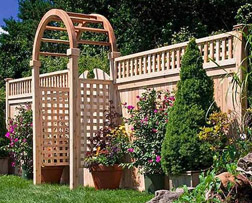 Fence Company NJ - Wood Fence Image