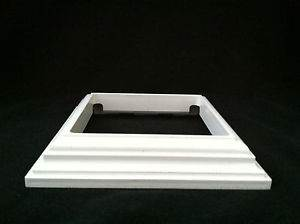 Posts Fence - (4 Inch White Post Skirt - ChallengerFence