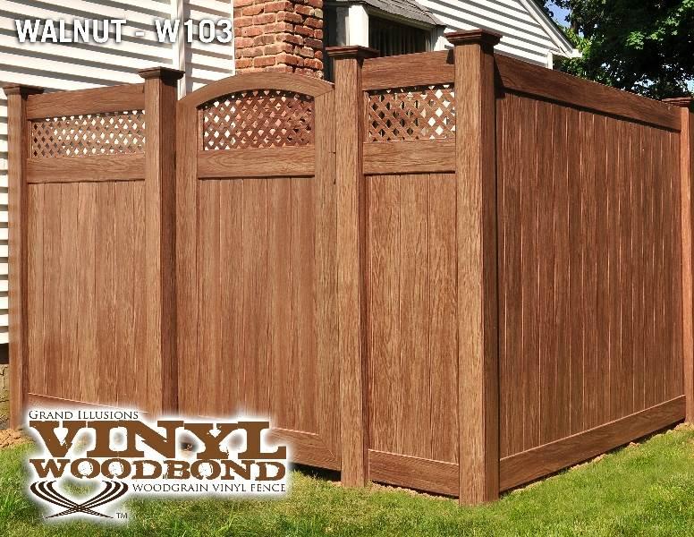 Eastern White Cedar Fencing Lattice Top T Amp G Fence Panels