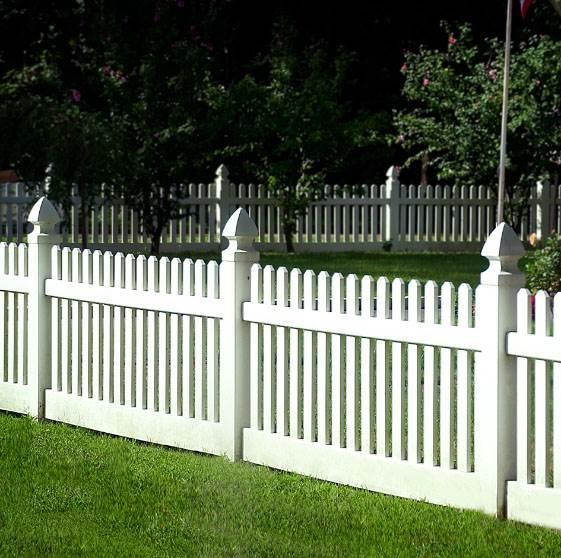 Eastern White Cedar Fencing Modern Spaced Picket V350 Fence